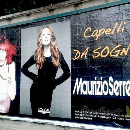 Maurizio Serretti affissioni